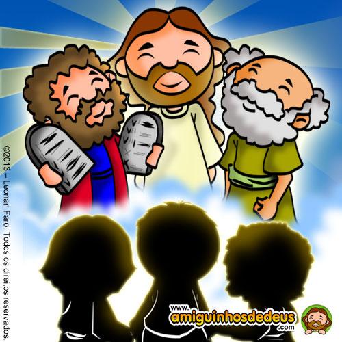 Resultado de imagem para desenho Evangelho de Mateus 17, 1-9 transfiguração