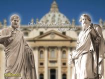 Resultado de imagem para imagem de são pedro e são paulo no vaticano