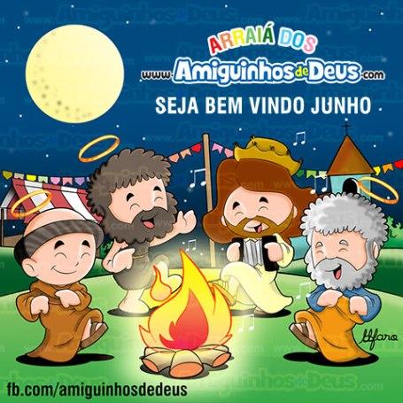 Junho (Festas Juninas) – mês de Santo Antônio 06ec2e90777