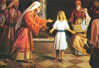 Resultado de imagem para jesus aos 12 anos no templo - imagem